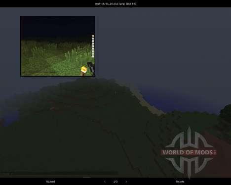Screenshots Enhanced [1.8] for Minecraft