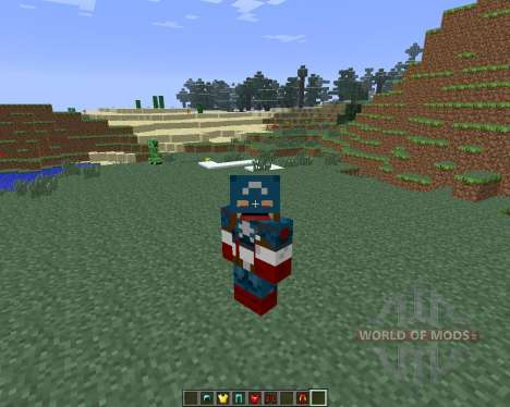 Super Heroes [1.6.4] for Minecraft