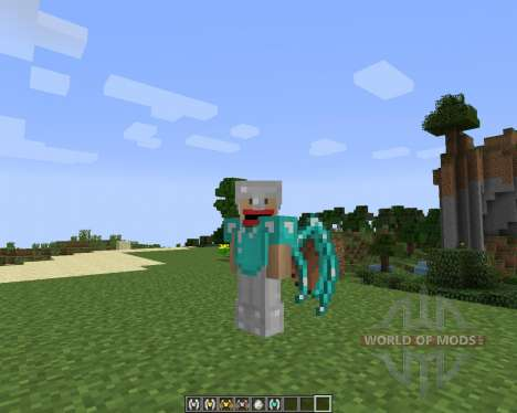 Simple Flight [1.7.2] for Minecraft