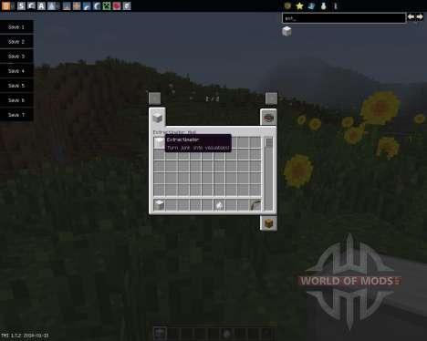 Extractinator [1.7.2] for Minecraft
