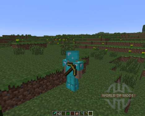 Back Tools [1.6.4] for Minecraft