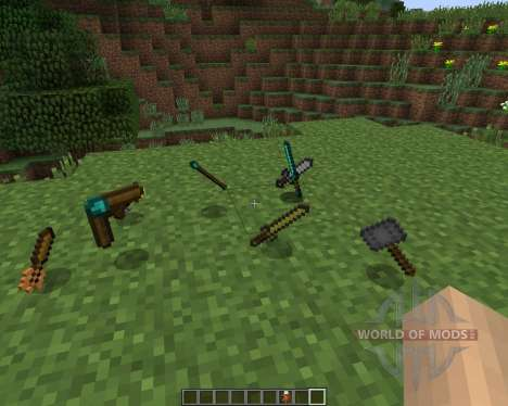 Balkons Weapon [1.7.2] for Minecraft