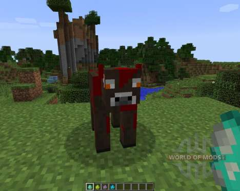 Elemental Cows [1.7.2] for Minecraft