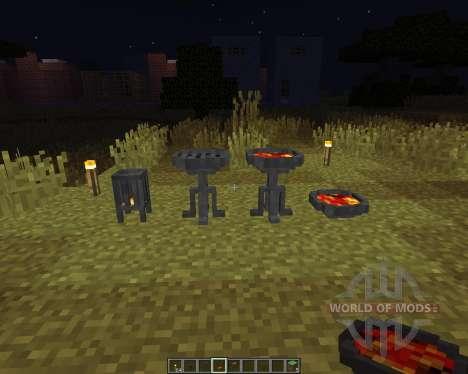 Brazier for Minecraft