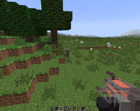 Gravity Gun [1.7.10] for Minecraft