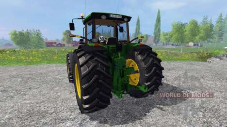 John Deere 8220 for Farming Simulator 2015