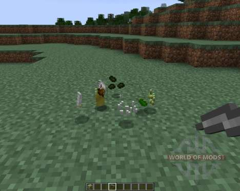 Sushi Craft [1.7.2] for Minecraft
