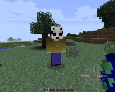 Slenderman [1.7.2] for Minecraft