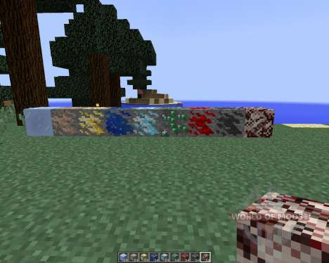 Dense Ores [1.8] for Minecraft