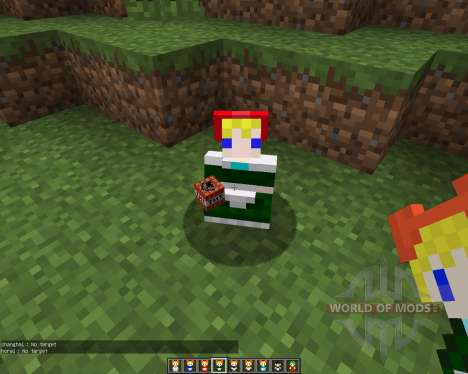 Touhou Alices Doll [1.7.2] for Minecraft