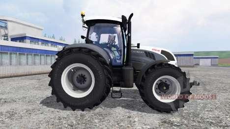 Steyr CVT 6230 grey for Farming Simulator 2015