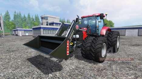 Case IH Puma CVX 230 v4.0 TwinWheels Frontloader for Farming Simulator 2015