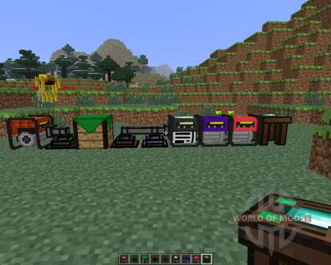 Extra Utilities [1.6.4] for Minecraft