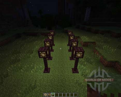 Lamp Posts [1.7.2] for Minecraft