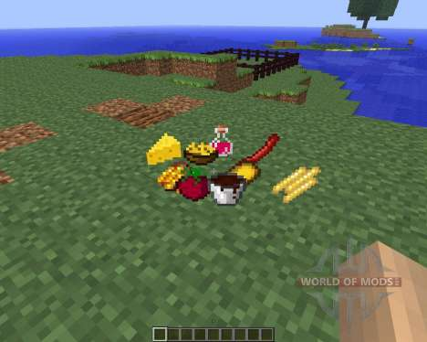 Food Plus [1.5.2] for Minecraft