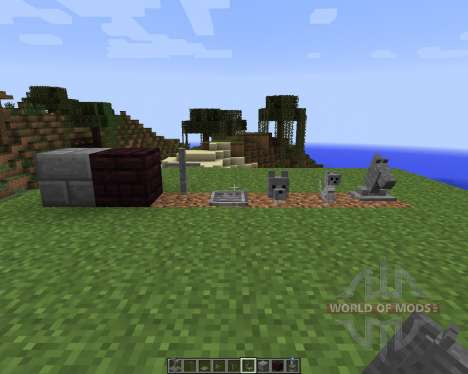 Gravestone [1.7.2] for Minecraft