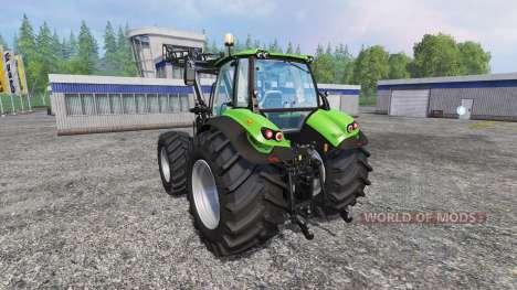 Deutz-Fahr Agrotron 7250 Forest King v2.0 green for Farming Simulator 2015