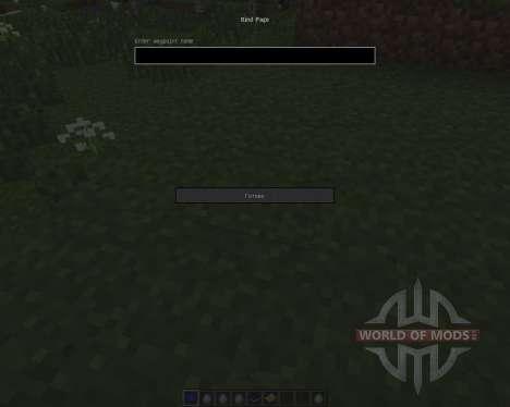 Warp Book [1.7.2] for Minecraft