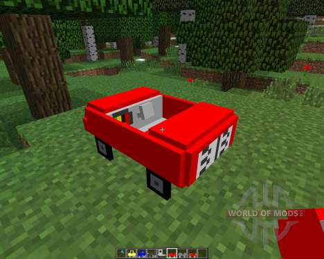 Cars and Drives [1.6.4] for Minecraft