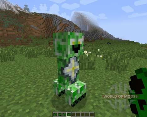 Creeper Species [1.7.2] for Minecraft