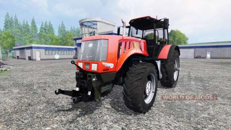 Belarus-3022 DC.1 with dual wheels for Farming Simulator 2015