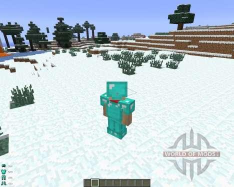ArmorStatusHUD [1.6.4] for Minecraft