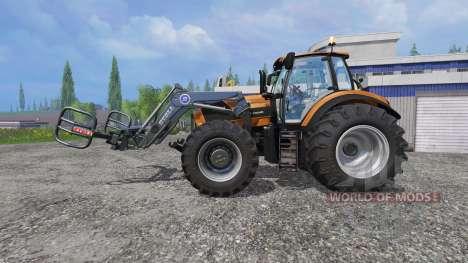 Deutz-Fahr Agrotron 7250 Forest King v2.0 orange for Farming Simulator 2015