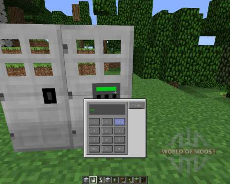 Key and Code Lock [1.5.2] for Minecraft