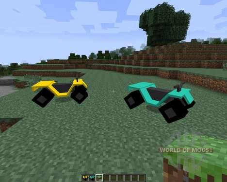 All-terrain Vehicle (ATV) [1.7.2] for Minecraft