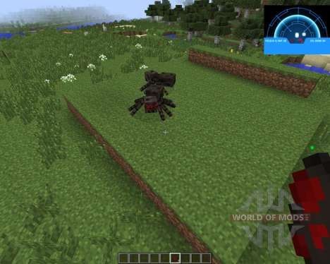 Aliens Motion Tracker [1.7.2] for Minecraft