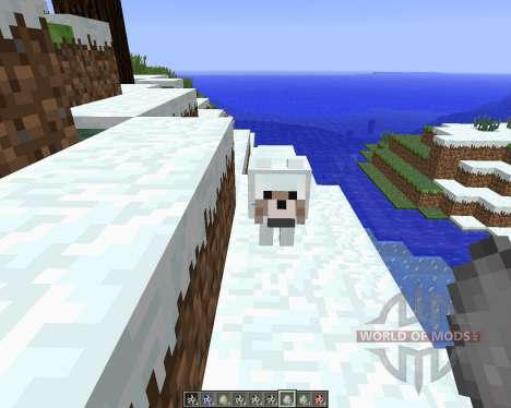 More Wolves [1.6.4] for Minecraft