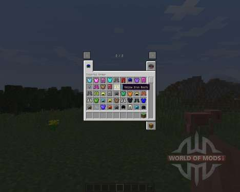 Colorful Armor [1.8] for Minecraft