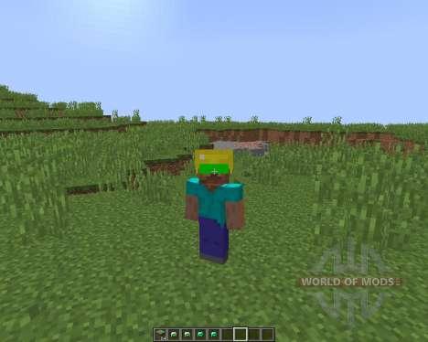 Night Vision Mining Hats [1.8] for Minecraft