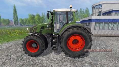 Fendt 828 Vario Ploughing Spec for Farming Simulator 2015
