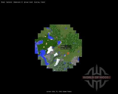 MapWriter [1.8] for Minecraft
