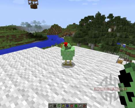 Mo Chickens [1.7.2] for Minecraft