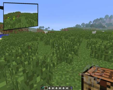 Rearview Mod [1.6.4] for Minecraft
