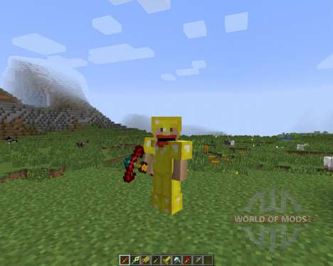 CST7 Weapons [1.7.2] for Minecraft