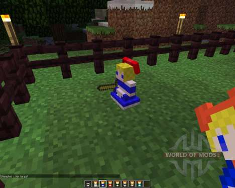 Touhou Alices Doll [1.5.2] for Minecraft