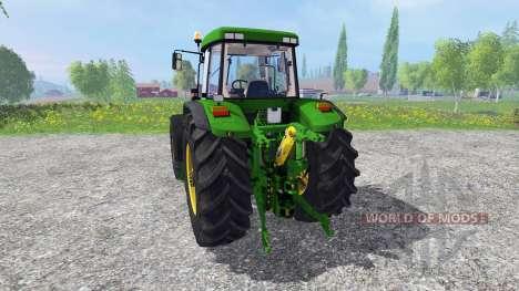 John Deere 7810 FW real turbine sound v1.1 for Farming Simulator 2015