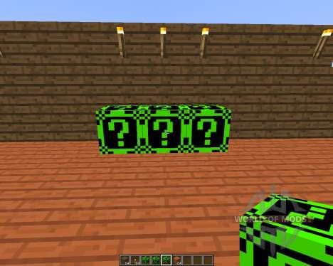 Lucky Block Dark Neon [1.7.10] for Minecraft