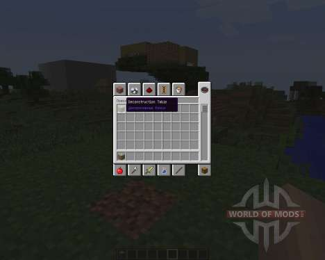 Deconstruction Table [1.7.2] for Minecraft