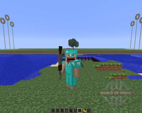 3D Gun [1.5.2] for Minecraft