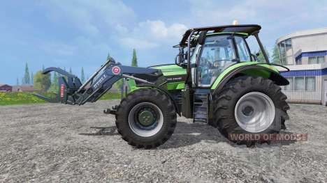 Deutz-Fahr Agrotron 7250 TTV v2.0 forest for Farming Simulator 2015