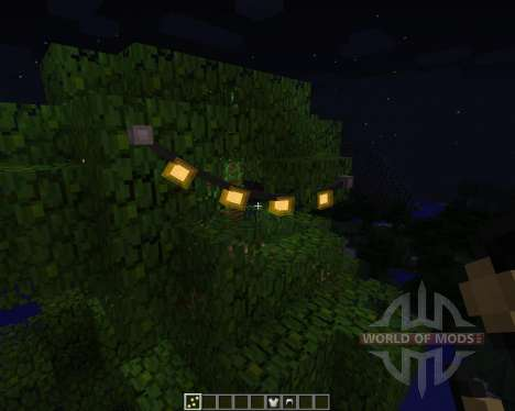 Fairy Lights [1.7.2] for Minecraft