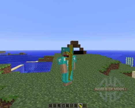 Скачать мод на оружие для Minecraft PE 102