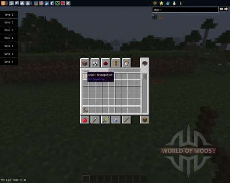 Chest Transporter [1.7.2] for Minecraft