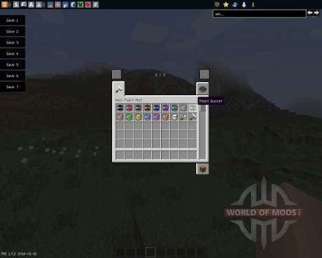 Wall Painter [1.7.2] for Minecraft