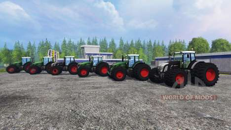 Fendt 936 Vario v1.3 for Farming Simulator 2015