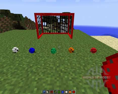 FloorBallCraft [1.7.2] for Minecraft
